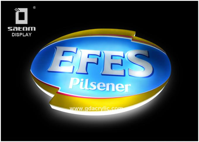 EFES Bar Bottle Display Wall mounted Display, High quailty Light Source