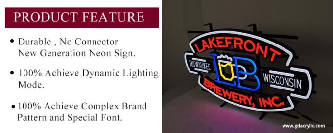 Beer Lakefront Custom Neon Signs Brewery Personalized Advertising Neon Signs
