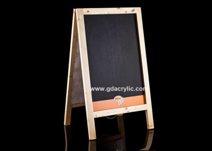 Wood Sandwich Board Signs A Frame Chalkboard Businesses With Advertising Banner
