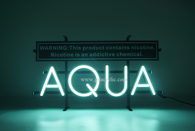 E-cigarette / E-juice / Vape logo brand Advertising display custom made neon sign