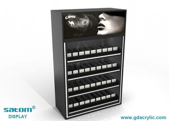 China Acrylic Cigarette Display Cabinet , Cigarette Advertising Poster Can Be Replaced supplier