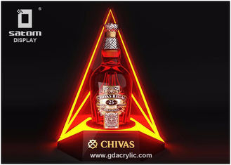 China Acrylic Bottle Display Excellent Light Sensation Characteristic For Bar Club Party supplier