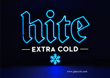 Good Quality Custom Neon Signs & 100% Achieve Vivid Snowflake Pattern Extra Cold Hite Beer Advertising Neon Sign on sale
