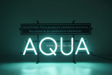 Good Quality Custom Neon Signs & E-cigarette / E-juice / Vape logo brand Advertising display custom made neon sign on sale