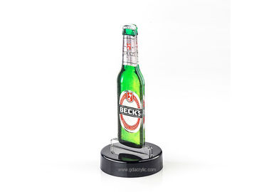 Good Quality Custom Neon Signs & Special Beer-shape Advertising Display Double Side Inset Acrylic Menu Stands on sale