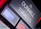 Tobacco Display Case , Advertising Window Effect On The Top Of The Light Box
