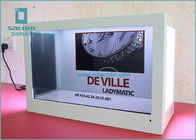 China Classical Counter Type Transparent Lcd Screen Innovative Advertising Displayer factory