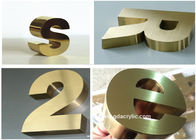 Manufacturer Custom Led Frontlit 3D Stainless Steel Letter Sign