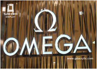 China OMEGA Resin Stainless Steel Signs 12 Years Manufacturing Experience factory
