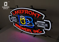 China Beer Lakefront Custom Neon Signs Brewery Personalized Advertising Neon Signs factory