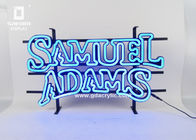 China Personalized Neon Signs Indoor / Outdoor Letters Sign With Iron Mounting Rack factory