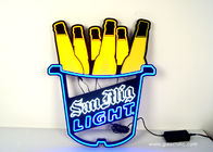 Advertising Party Wall Decorative Wholesale Cocktails Plastic LED Resin Neon