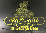 Feature Edge Lit Outdoor High Brightness  Beer Metal Plastic Sign Led Neon
