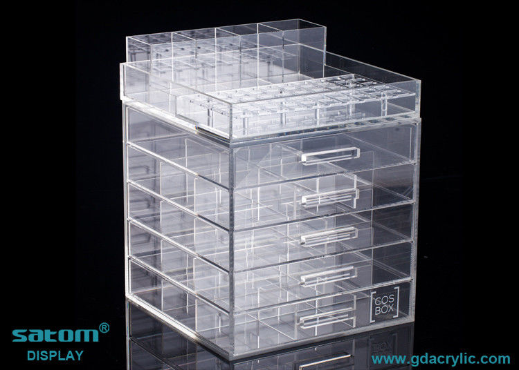 Large Makeup Organizer Cool Large Clear Acrylic Cosmetic