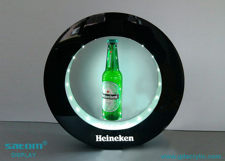 High Tech Magnetic Floating Display Wine Bottle , 360 Degree Rotating
