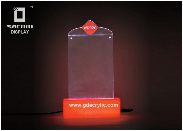 Led Counter Top Restaurant Menu Holders Table Card Display XxMm - Table menu holders for restaurants