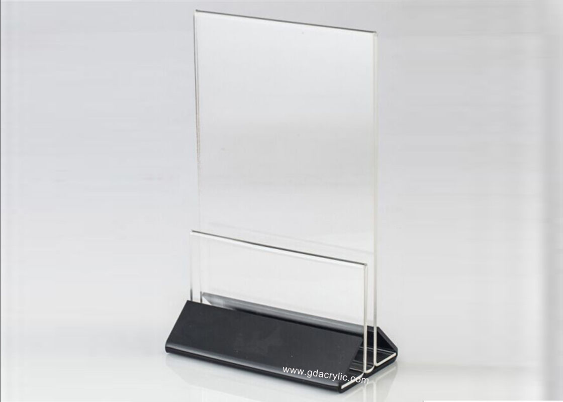 Clear Acrylic Sign Holders 8.5 x 11 , Tight Clip Display Service Information