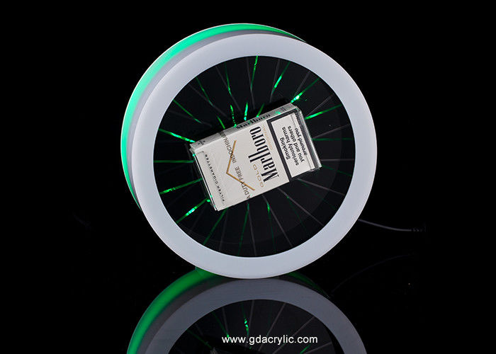 Colorful Light Catch People's Eye Rotating Cigarette Display Cabinet or Case