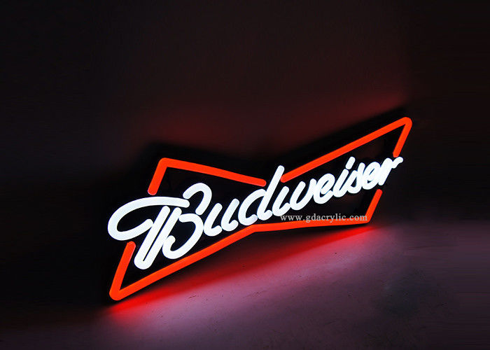 China Wholesale custom bar decorative Mark Budweiser Brand Personalised Neon Bar Signs