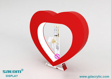 Heart-shaped Magnetic Levitation Display With Built In Led Light