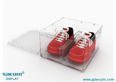 Freely Assembled Acrylic Shoe Case , Convenient Storage And Display