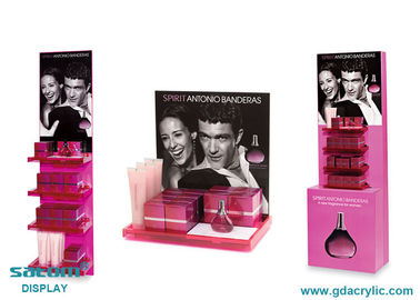 Tiered Retail Pop Displays With Vivid Publicity Advertisement Image