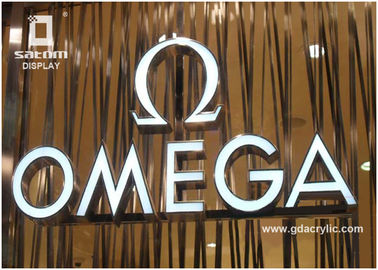 OMEGA Resin Stainless Steel Signs 12 Years Manufacturing Experience