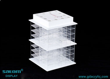 High Transparent Acrylic Lipstick Tower Free Individual Packing Box