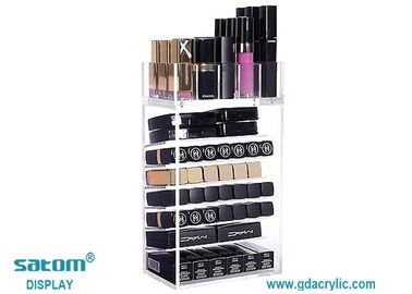 12 Years Gold Supplier Profesional Display Solution For Acrylic Lipstick Organizers