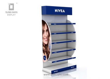 Nivea Floor Stand Storage Shelf Of MDF / Acrylic For Display The Cosmetic