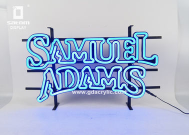 Personalized Neon Signs Indoor / Outdoor Letters Sign With Iron Mounting Rack