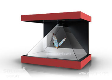 270°  3D Hologram Display , Combines Holographic 3D Content With Physical Products