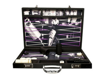 18 Inch Lucite Chess Backgammon Set Backgammon Board Game Complete Set