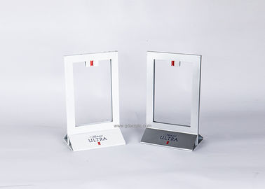 Table Counter Top Metal Stainless Steel Menu Sign Display Holder