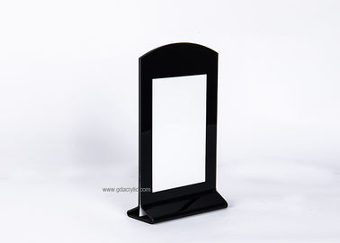 China Black Silk screen printing Picture Menu Notice frame Holder Display factory