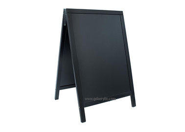 A-Frame Custom Double-Sided Sidewalk Sandwich Board Advertising Chalkboard